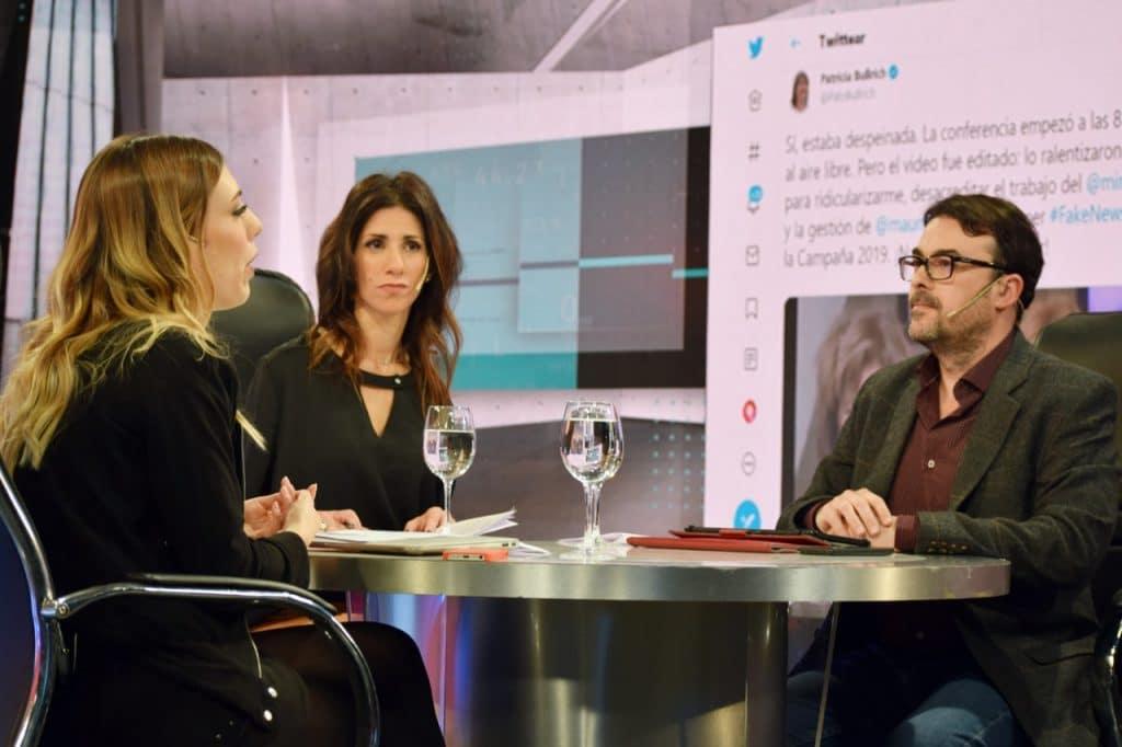 Nuria Am, Brenda Struminger y Diego Corbalán en #LaboratorioElectoral por El Nueve