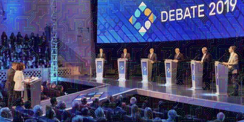 """Las redes sociales se """"agrietaron"""" durante el segundo debate presidencial, con Fernández nuevamente liderando"""
