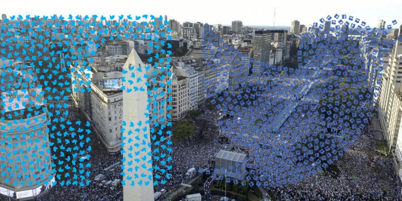 La «marcha del millón» sumó interés para Juntos por el Cambio, pero el Frente de Todos sigue sacándole ventaja