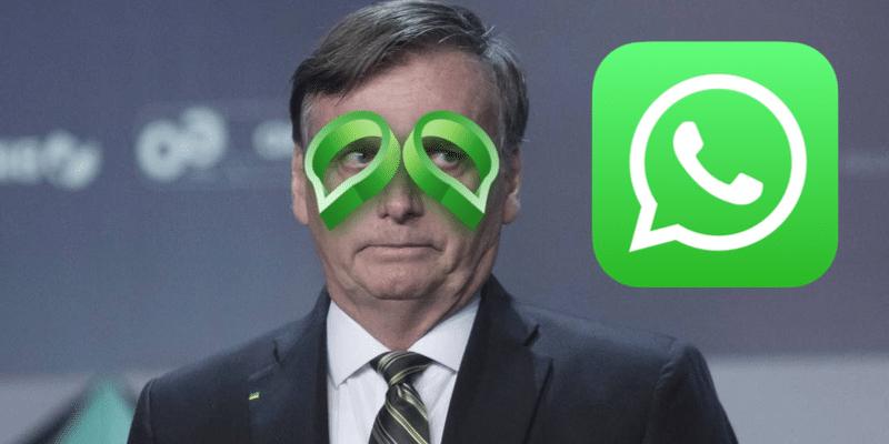 Brasil: Una confesión de parte de WhatsApp que pone en apuros a Bolsonaro
