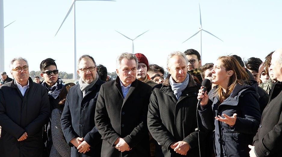 Pampa Energía anuncia la construcción de un nuevo parque eólico