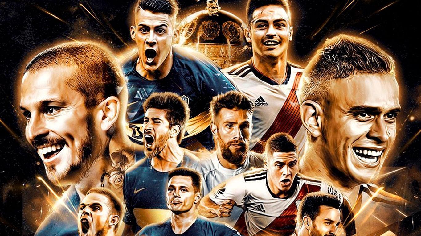 Boca y River en la previa de un nuevo Superclásico por Copa Libertadores