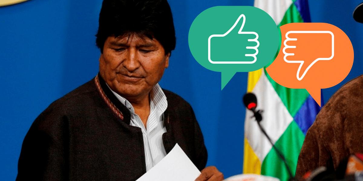 Para las redes sociales, en Bolivia hubo un golpe de Estado