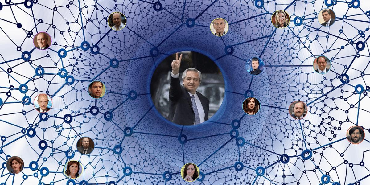 Las redes concentran el interés en Alberto Fernández, a pocos días de asumir