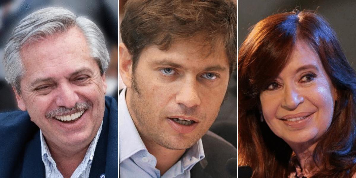 Para las redes, Kicillof será clave en la relación entre Alberto y  Cristina Fernández