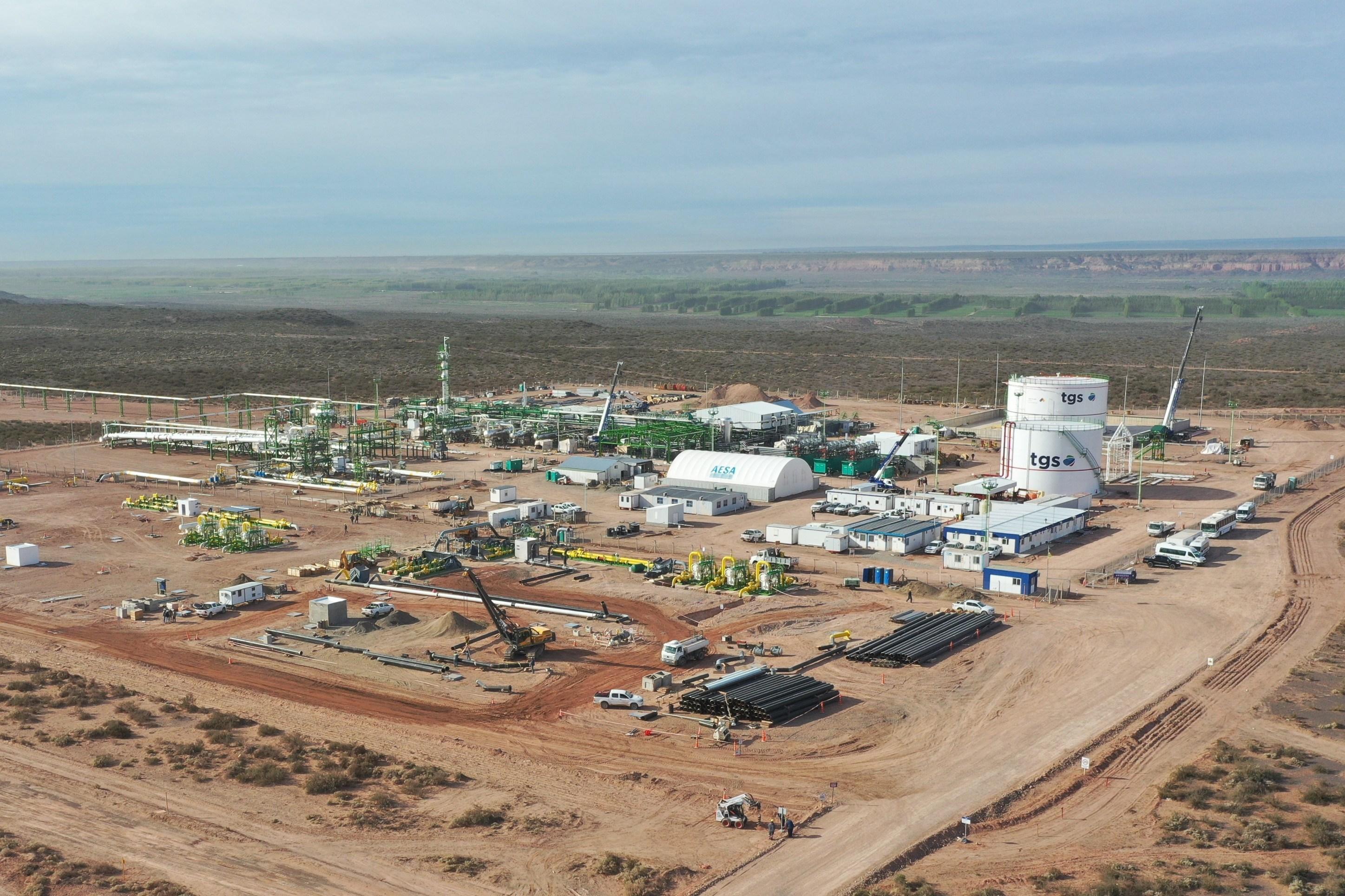 TGS culminó las obras del Gasoducto de Vaca Muerta