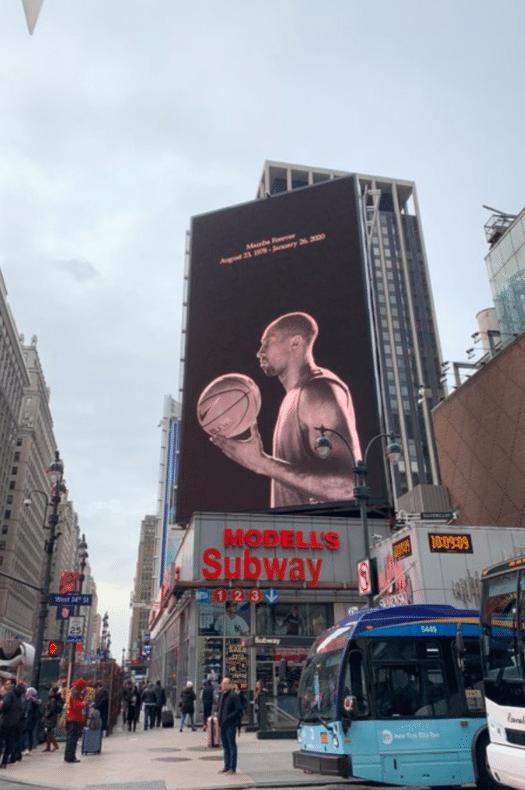 Homenajes a Kobe Bryant