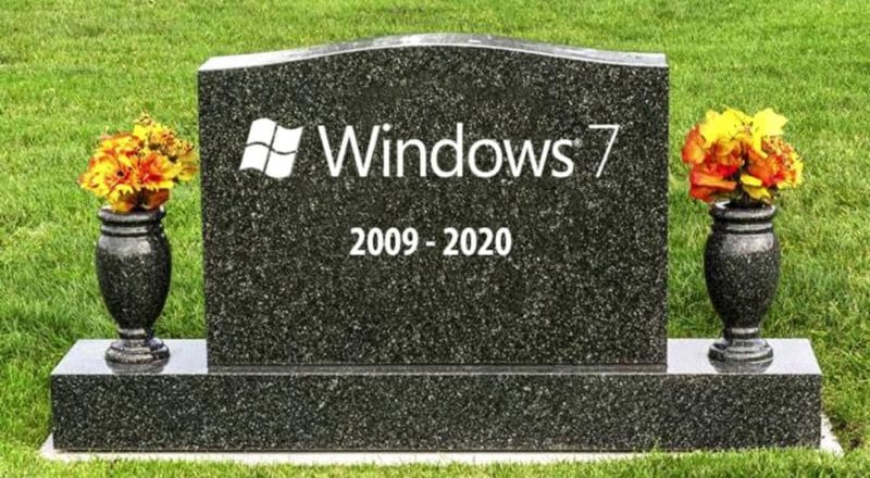 Windows 7 se volvió Windows XP