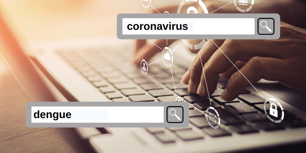 Argentina: Las consultas en la Web por el coronavirus y el dengue volvieron a marcar un record