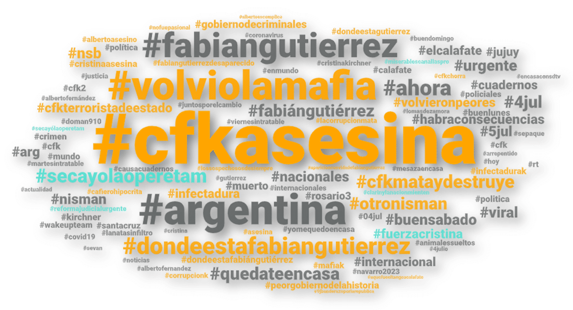 Fabián Gutiérrez: En las redes, la oposición capitalizó el asesinato del exsecretario de Cristina