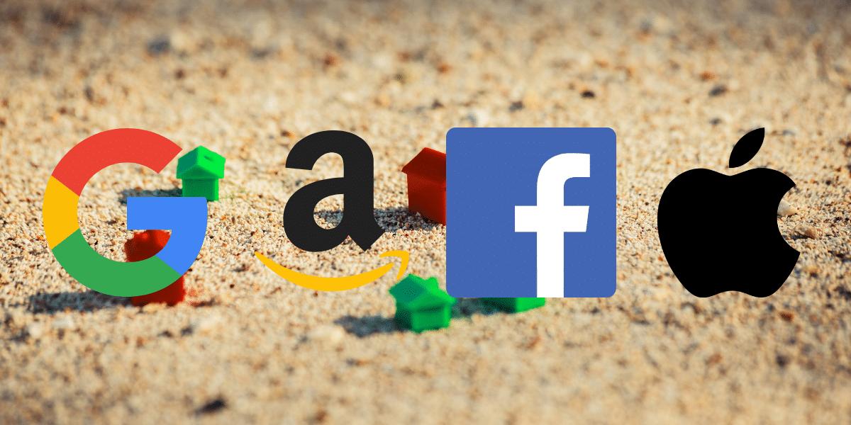 Amazon, Apple, Facebook y Google, culpables