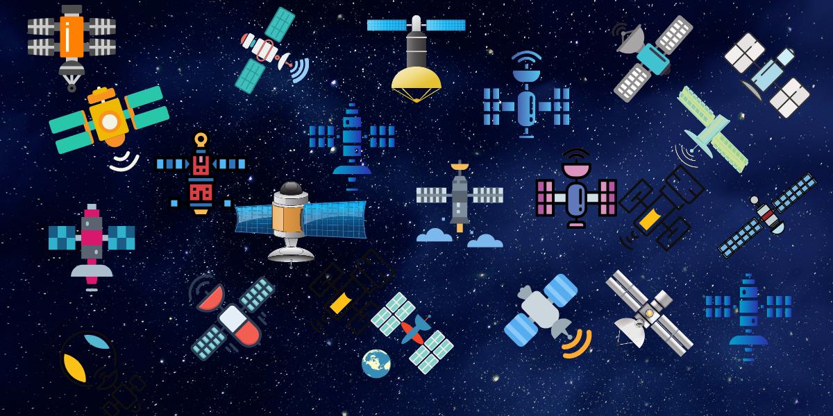 Y en el cielo… ¡los satélites!