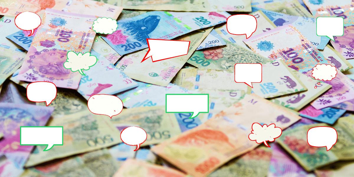 Se dispara el interés digital de los argentinos por la riqueza, con fuerte negatividad