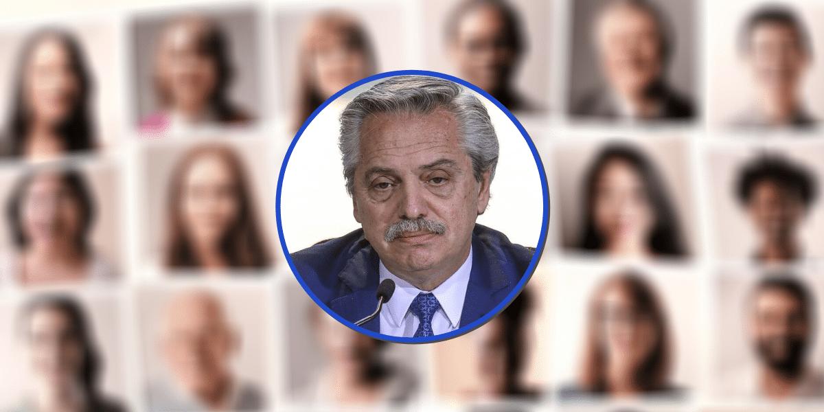 Alberto Fernández logra un tibio apoyo de los usuarios oficialistas