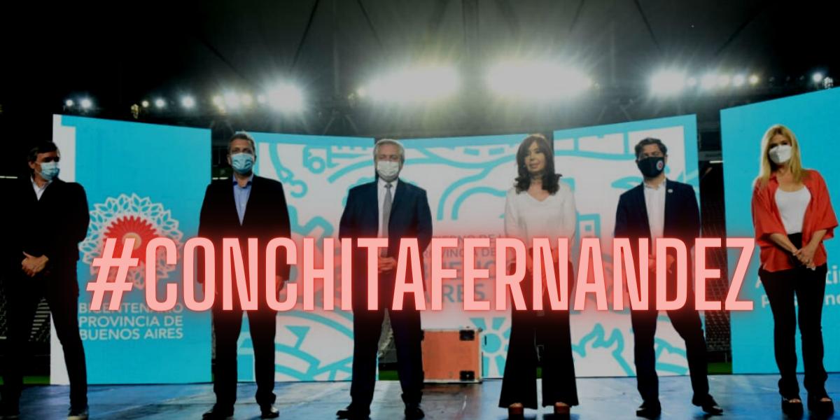 #ConchitaFernandez: la agresiva campaña contra Alberto Fernández