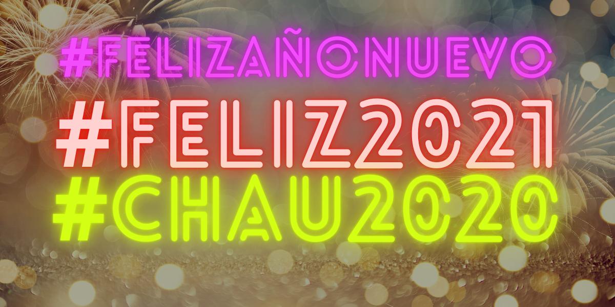 #FelizAño #Feliz2021: Así recibieron las redes el nuevo año