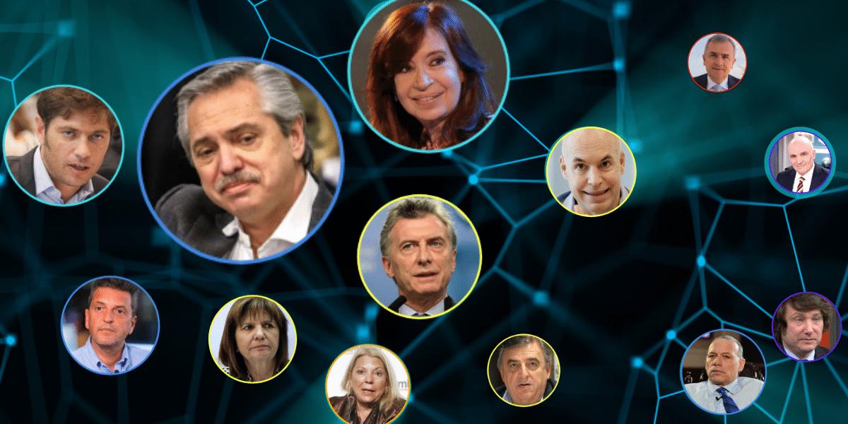 Alberto Fernández comenzó 2021 liderando los respaldos en redes