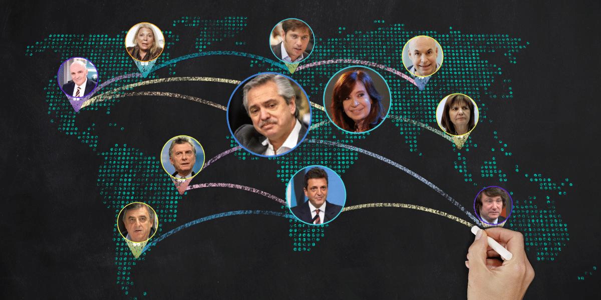 El kirchnerismo concentra la atención de las redes y relega a la oposición