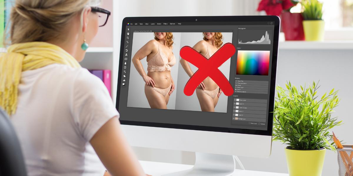 Influencers, no (re)toquen sus fotos