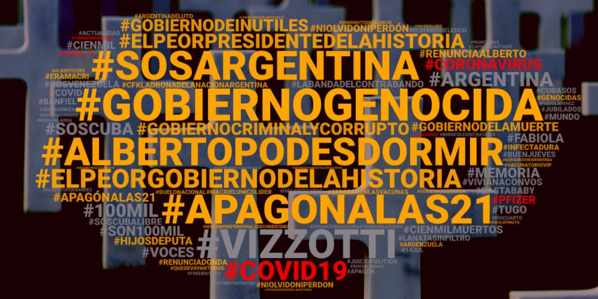 Coronavirus: Los #100MilMuertos en la Argentina reactivaron las críticas al gobierno