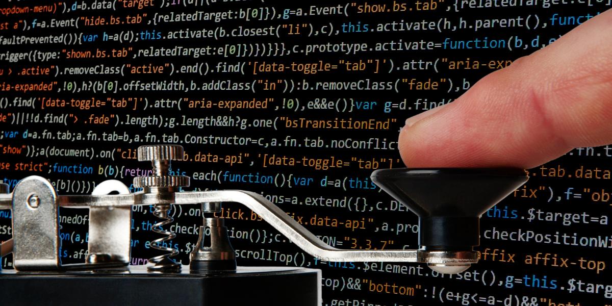 El código Morse «volvió» como arma inesperada de los hackers