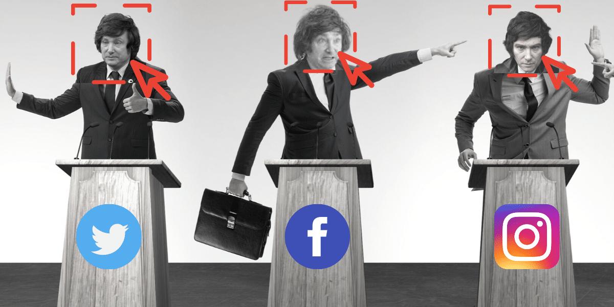 """#Elecciones2021: En las redes, el """"cisne negro"""" es Javier Milei"""