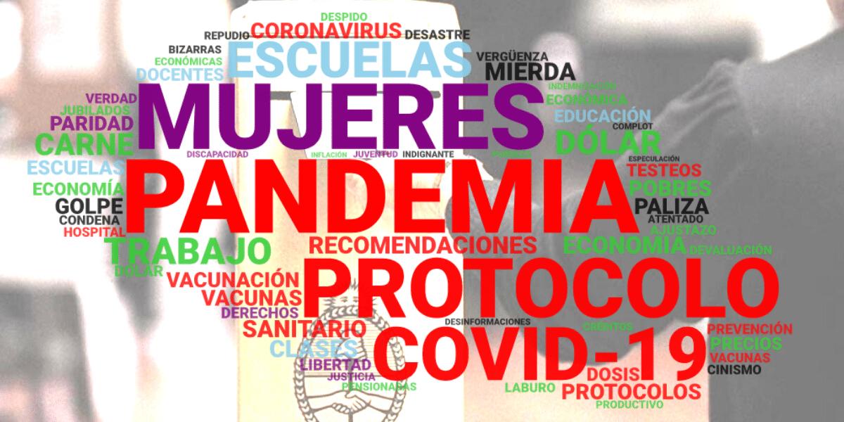 #Elecciones2021: La salud y la economía dominaron la charla de la campaña