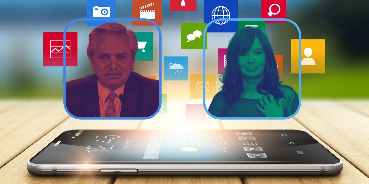 Crisis del gobierno: Para las redes, Cristina sale fortalecida; Alberto, debilitado